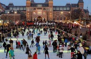 Museumplein ice skating